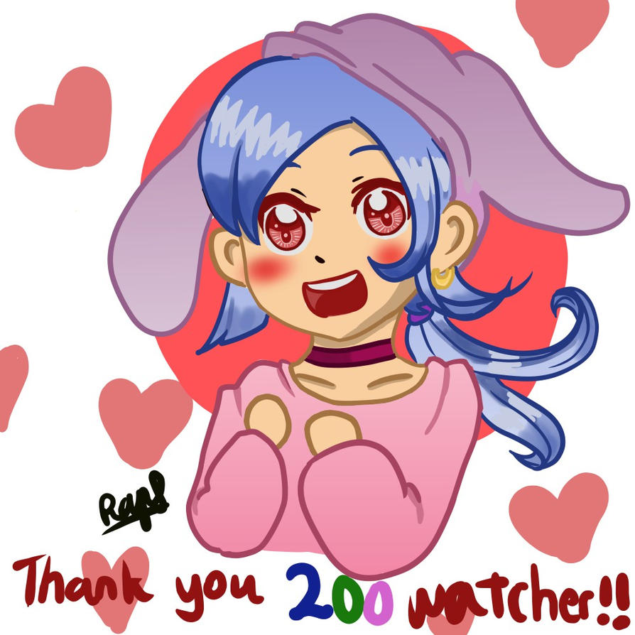 Thank you for 200th watcher ! by Raynef