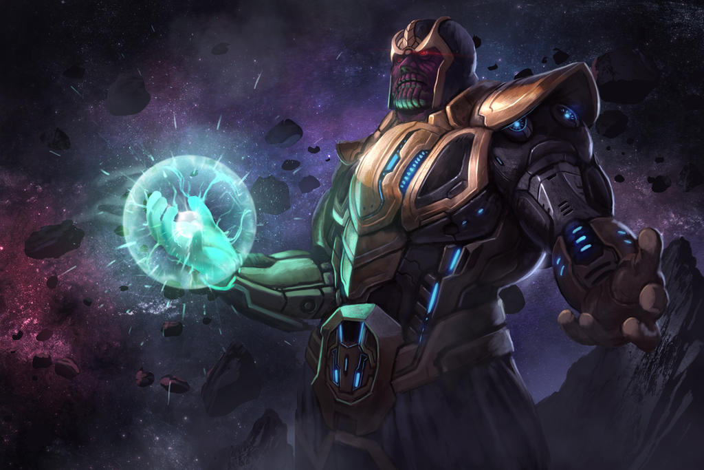 thanos by LaReviera