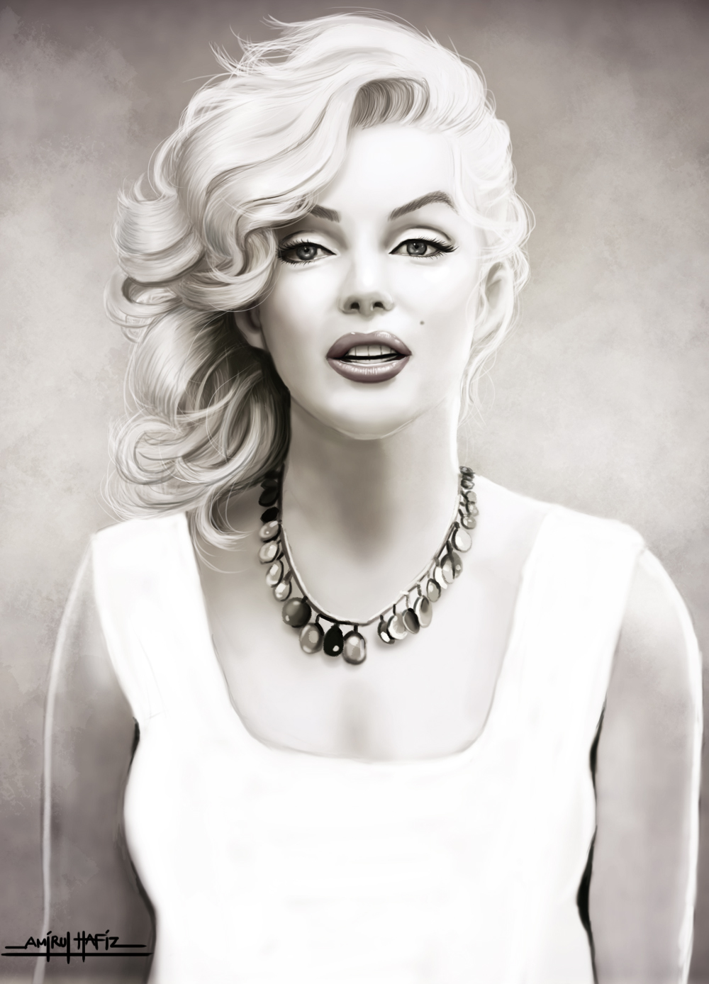 Marilyn Monroe By Amirulhafiz On Deviantart
