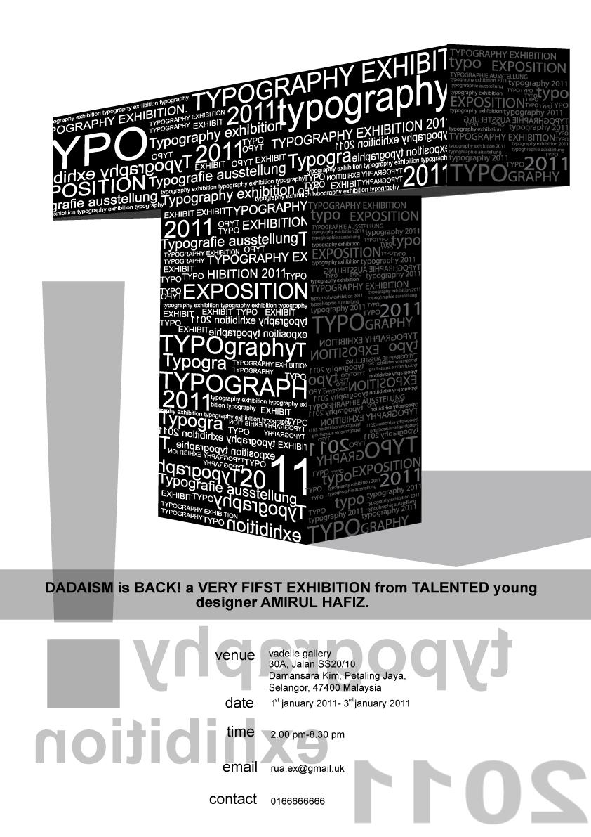 3D TYPO by amirulhafiz