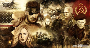 METAL GEAR SOLID 3 SNAKE EATER POSTER