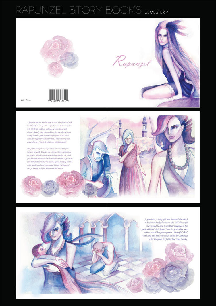 RAPUNZEL STORYBOOK by amirulhafiz