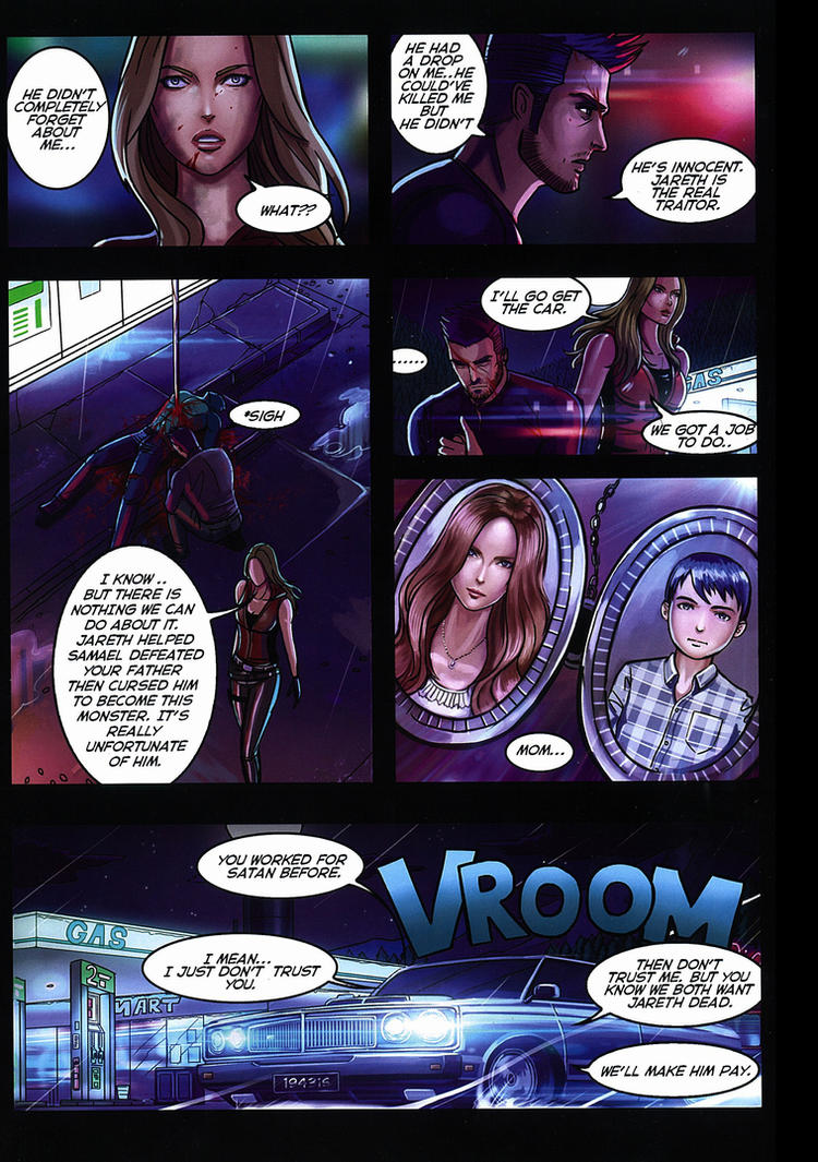 Devilblood page 13 by amirulhafiz