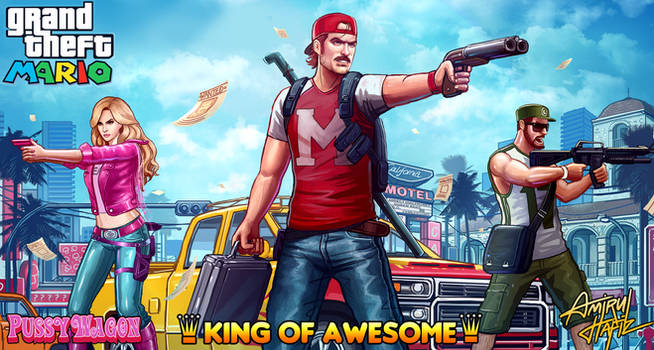 MARIO KING OF AWESOME