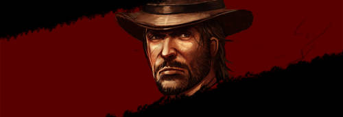 RED DEAD REDEMPTION POSTER WIP by amirulhafiz