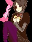 Chrome Dokuro Happy Valentine Render by xMissCherryxBlossom