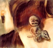 The Binding Of Isaac Fanart - Death - Speedpaint
