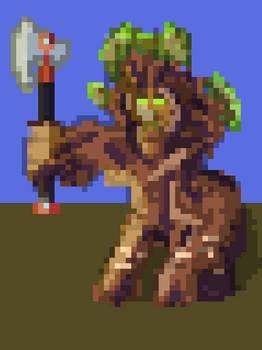 Grover - (Paladins Fanart) (Quick Pixel)