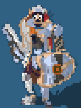 Fernando (Paladins fanart) (quick pixel)