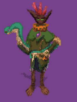 Mal'Damba - (Paladins Fanart) (Quick Pixel)