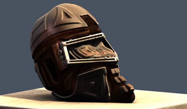 3d coat experiment- Post Apocalyptic Desert Helmet