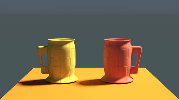 Learning Blender 003: Geometric Tankards