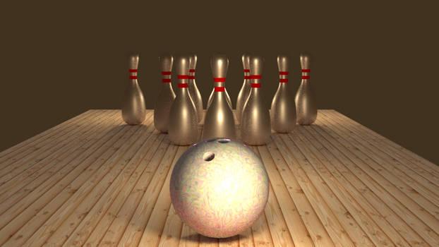 Learning Blender 004: Bowling