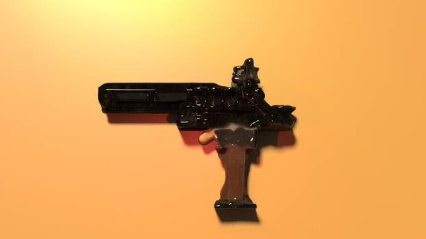 Quick Pistol Concept    Blender + 3d Coat