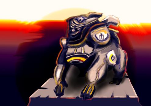 Overwatch Fanart - Winston