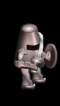 Affinity Designer Test - Knight Character v2