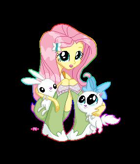 Fluttershy (Equestria Girls) by MarsBar1337