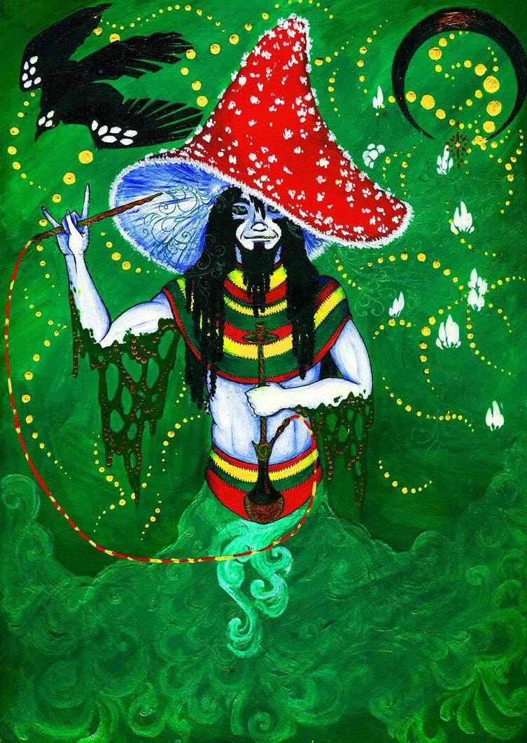Mushroom genie by Strepetarh