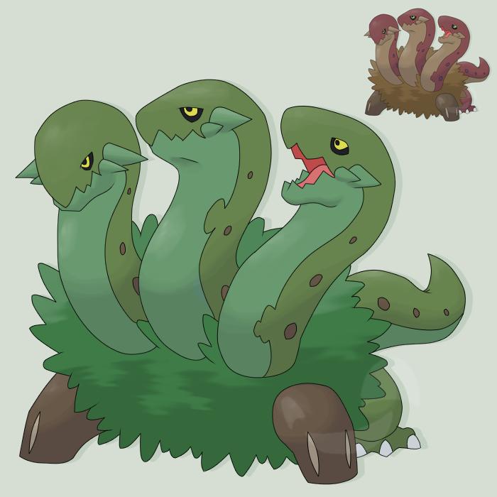 Grass Starter3 Serpentreo by mssingno