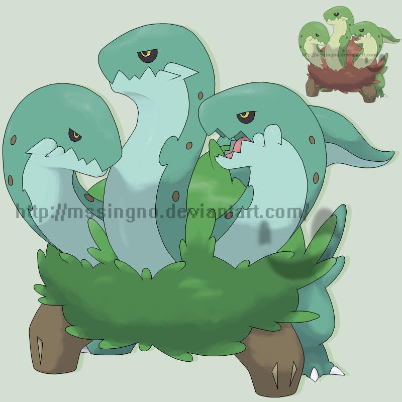 Grass Starter Serpentreo by mssingno