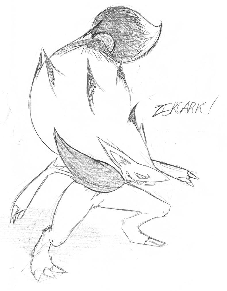 The Illusion Fox Pokemon by mssingno