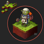 Isometric Game Concept - Main Character
