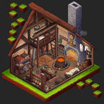 Isometric Game Concept - Room