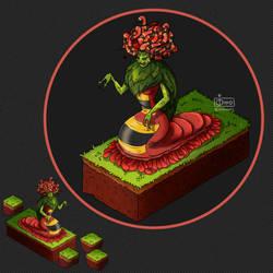 Isometric Game Concept - Gorgon