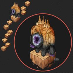 Isometric Game Concept - Golem