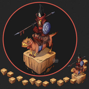 Isometric Game Concept - Rider