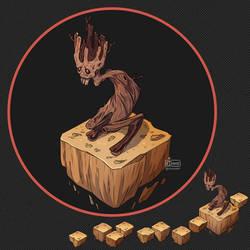Isometric Game Concept - Dry Tree