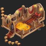 Isometric Game Concept - Treasure Hall