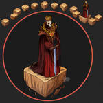 Isometric Game Concept - Lord of Darkness
