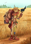 DnD Character - Scarecrow