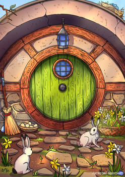 Ostara in Hobbiton