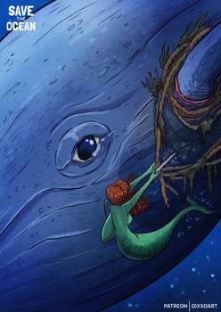 Whale Mermaid