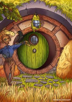 Lammas in Hobbiton