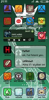 Phone Screen   Draco Malfoy
