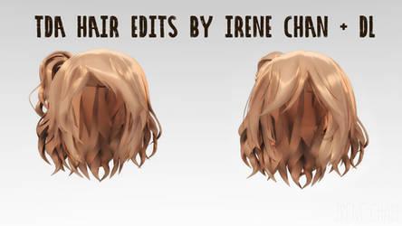 [ MMD ] TDA Hair Edits [ DL ]