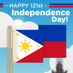 PH Independence Day 2019 (1920px) - Vector-Poster by TheLoudHouseFan2005