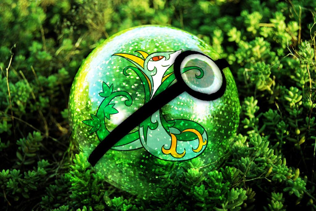 Serperior Pokeball by digi-fan111 on DeviantArt