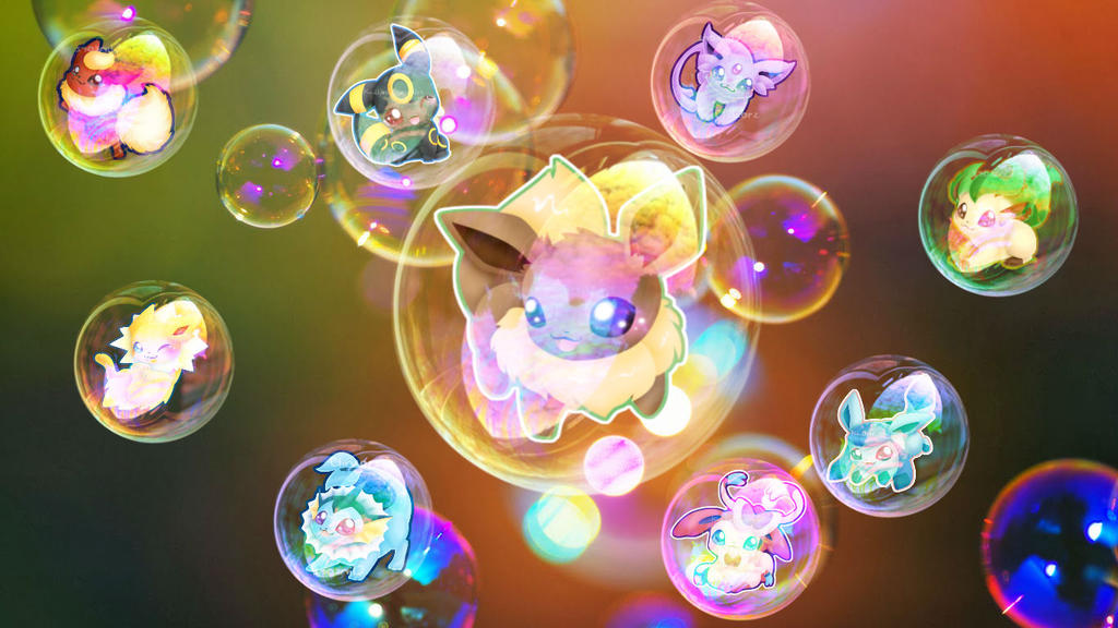 eeveelutions chibi wallpaper - photo #25