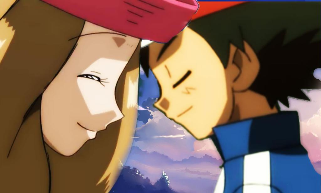 ash and serena dating