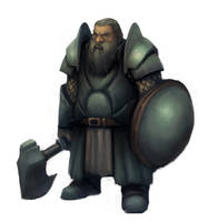 111108 dwarf warrior by pc-0