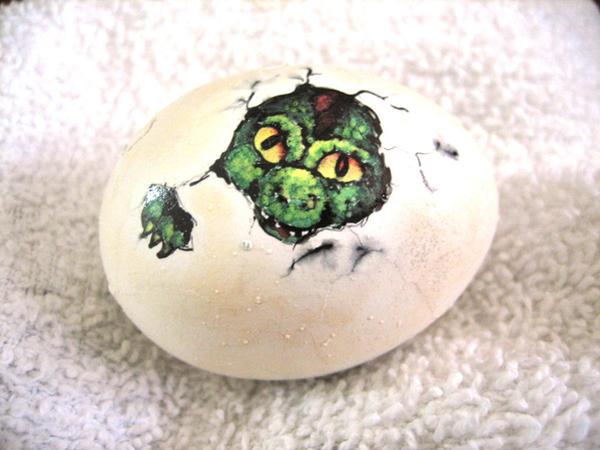 Dragon easter egg by Kyouko-Takara