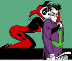 Mr.J + Boo_UnderXTheXRedXHood by SymbioteRevenge
