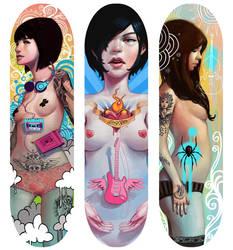 Skatedeck Designs by Rudeone