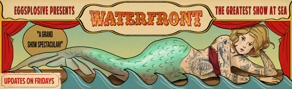 WaterFront banner by Rudeone