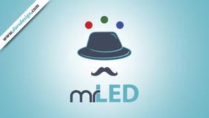 Mr. LED Logo by DorianOrendain