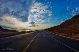 Carretera a Empalme, Sonora by DorianOrendain